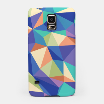Thumbnail image of Colorful geometric kaleidoscope pattern Samsung Case, Live Heroes