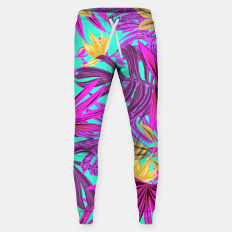 Thumbnail image of Jungle Leaves Sweatpants, Live Heroes