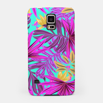 Thumbnail image of Jungle Leaves Samsung Case, Live Heroes