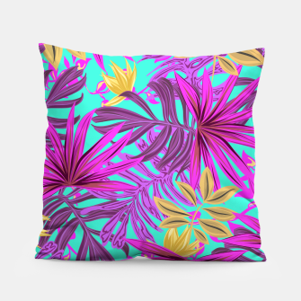 Thumbnail image of Jungle Leaves Pillow, Live Heroes