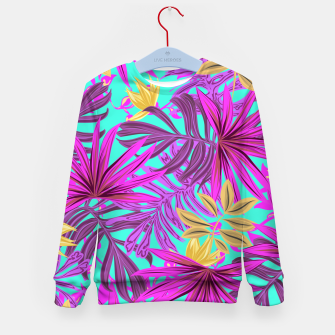 Thumbnail image of Jungle Leaves Kid's sweater, Live Heroes