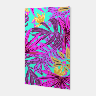 Thumbnail image of Jungle Leaves Canvas, Live Heroes