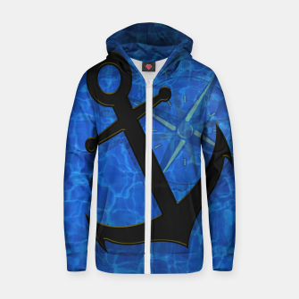 Miniatur Nautical Fun Zip up hoodie, Live Heroes