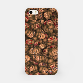 Miniatur Classic Doom guy faces iPhone Case, Live Heroes