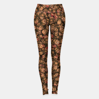 Miniatur Classic Doom guy faces Leggings, Live Heroes