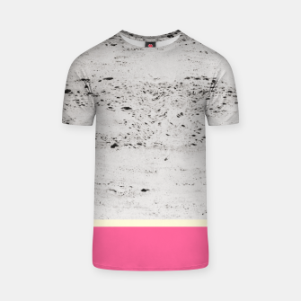 Thumbnail image of Pink Pale Yellow on Concrete #1 #decor #art T-Shirt, Live Heroes