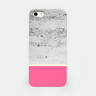 Thumbnail image of Pink Pale Yellow on Concrete #1 #decor #art iPhone-Hülle, Live Heroes