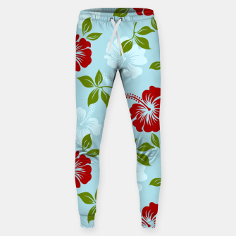 Thumbnail image of Flower pattern Sweatpants, Live Heroes