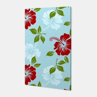 Thumbnail image of Flower pattern Canvas, Live Heroes