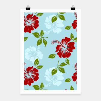 Thumbnail image of Flower pattern Poster, Live Heroes