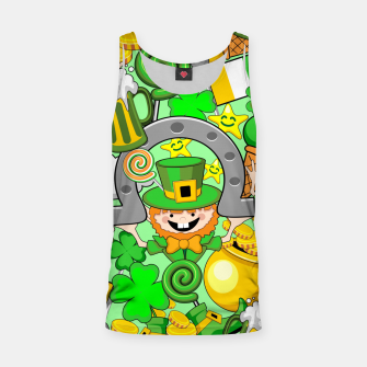Thumbnail image of St Patrick Doodles  Tank Top, Live Heroes