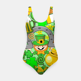 Thumbnail image of St Patrick Doodles  Swimsuit, Live Heroes