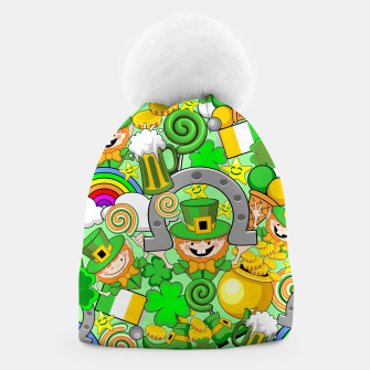 Thumbnail image of St Patrick Doodles  Beanie, Live Heroes