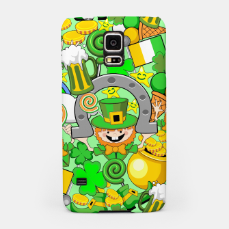 Thumbnail image of St Patrick Doodles  Samsung Case, Live Heroes
