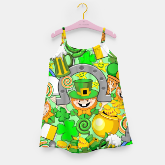 Thumbnail image of St Patrick Doodles  Girl's dress, Live Heroes