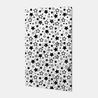 Thumbnail image of Star Pattern Vintage Style Canvas, Live Heroes