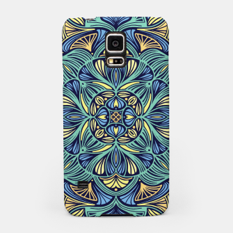 Miniatur Colorful Mandala Pattern 016 Samsung Case, Live Heroes