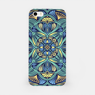 Miniatur Colorful Mandala Pattern 016 iPhone Case, Live Heroes
