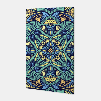 Miniatur Colorful Mandala Pattern 016 Canvas, Live Heroes