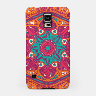 Miniatur Colorful Mandala Pattern 017 Samsung Case, Live Heroes