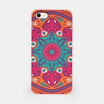 Miniatur Colorful Mandala Pattern 017 iPhone Case, Live Heroes