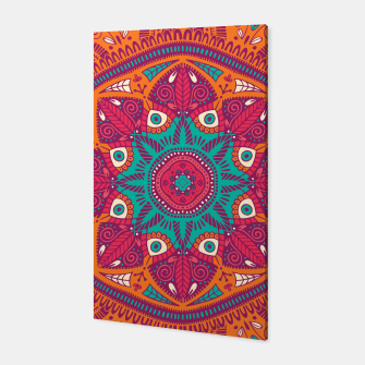 Miniatur Colorful Mandala Pattern 017 Canvas, Live Heroes