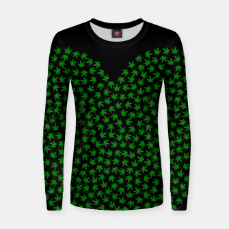 Thumbnail image of 4:20 HEART Women sweater, Live Heroes