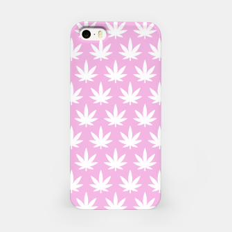 Miniatur Kawaii Cannabis iPhone Case, Live Heroes