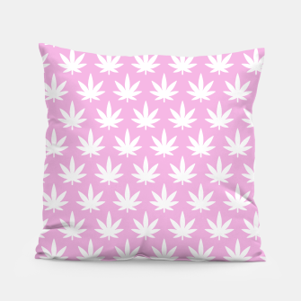 Miniatur Kawaii Cannabis Pillow, Live Heroes