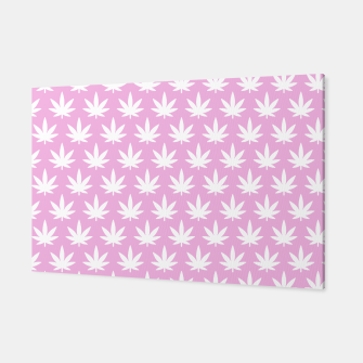 Miniatur Kawaii Cannabis Canvas, Live Heroes