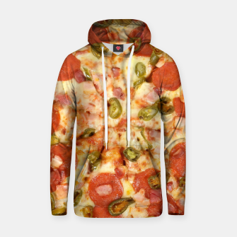 Thumbnail image of Jalapeño and Pepperoni Pizza Hoodie, Live Heroes