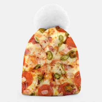 Thumbnail image of Jalapeño and Pepperoni Pizza Beanie, Live Heroes