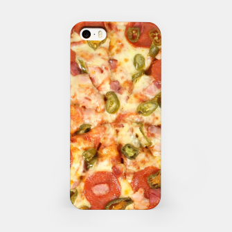 Thumbnail image of Jalapeño and Pepperoni Pizza iPhone Case, Live Heroes