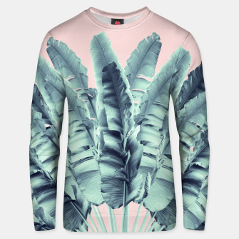 Miniature de image de Blush Traveler Tree Dream #1 #tropical #decor #art  Unisex sweatshirt, Live Heroes