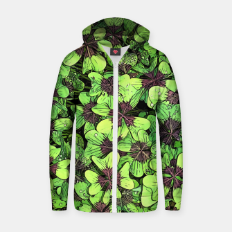 Thumbnail image of Lucky Zip up hoodie, Live Heroes