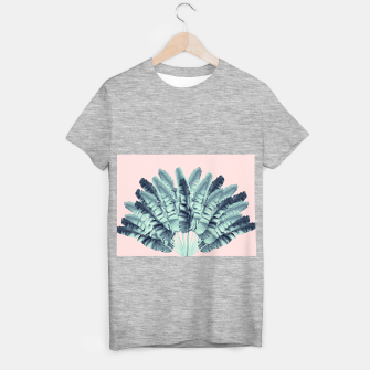 Miniature de image de Blush Traveler Tree Dream #1 #tropical #decor #art  T-Shirt regulär, Live Heroes