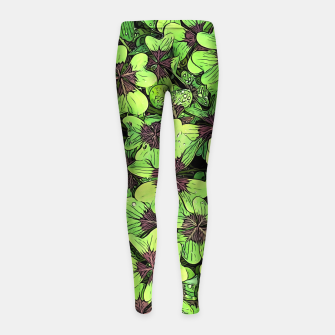 Thumbnail image of Lucky Girl's leggings, Live Heroes