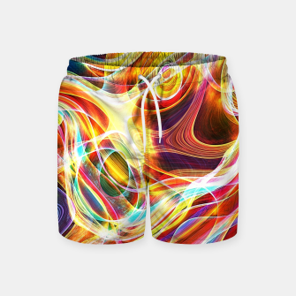 Thumbnail image of Abstract swirl Swim Shorts, Live Heroes