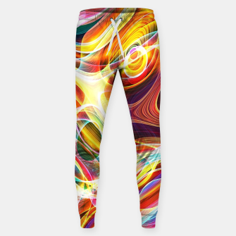 Thumbnail image of Abstract swirl Sweatpants, Live Heroes