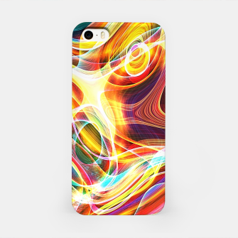 Thumbnail image of Abstract swirl iPhone Case, Live Heroes