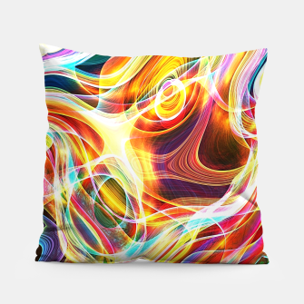Thumbnail image of Abstract swirl Pillow, Live Heroes