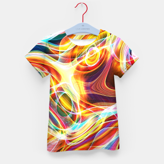 Thumbnail image of Abstract swirl Kid's t-shirt, Live Heroes