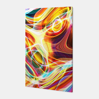 Thumbnail image of Abstract swirl Canvas, Live Heroes