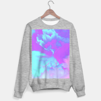 Thumbnail image of  Organized Chaos Glitched Fluid Art Sweater regular, Live Heroes