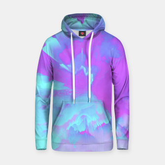 Thumbnail image of  Organized Chaos Glitched Fluid Art Hoodie, Live Heroes