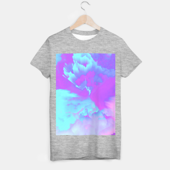 Thumbnail image of  Organized Chaos Glitched Fluid Art T-shirt regular, Live Heroes