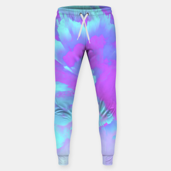 Thumbnail image of  Organized Chaos Glitched Fluid Art Sweatpants, Live Heroes