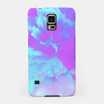 Thumbnail image of  Organized Chaos Glitched Fluid Art Samsung Case, Live Heroes