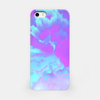Thumbnail image of  Organized Chaos Glitched Fluid Art iPhone Case, Live Heroes
