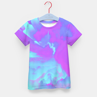 Thumbnail image of  Organized Chaos Glitched Fluid Art Kid's t-shirt, Live Heroes